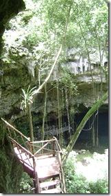 Entrée Cenote Nuevo X-an
