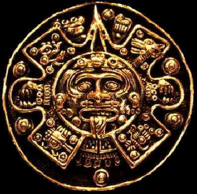 Maya afbeelding godheid