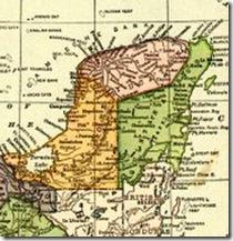 Carte du Yucatan de 1910